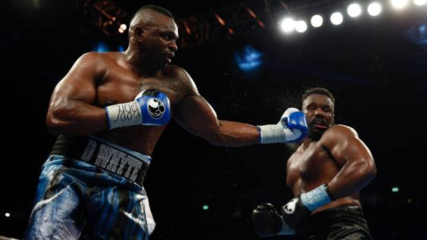 Dillian Whyte Confronts Joseph Parker Ringside
