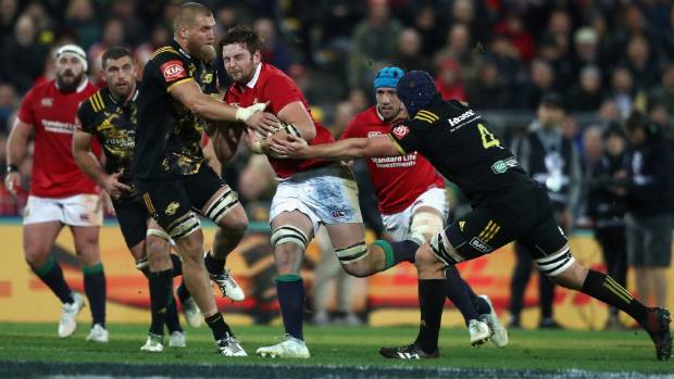 Hurricanes loose forward Brad Shields, left, is said to have recovered well from the sternum injury he picked up against ...