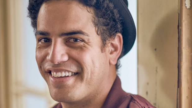 The Modern Maori Quartet's Matariki Whatarau as The Dance Exponents' bass player Dave Gent.