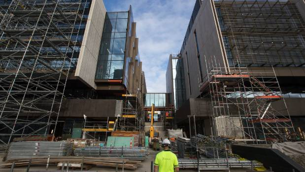 Christchurch cbd commercial rebuild will supersede for Landscape construction christchurch