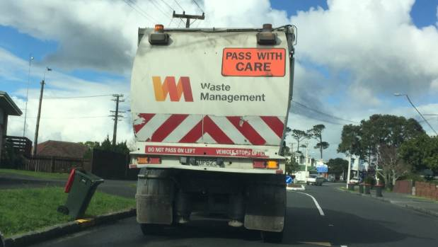 Waste Management is one several companies that operate a private rubbish collection system in Auckland.