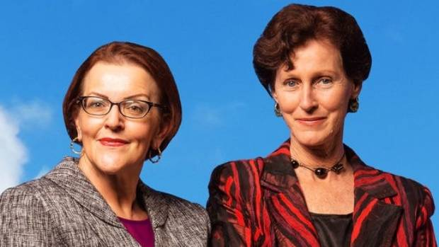 Pinky Agnew and Lorae Parry are back with more political satire, in Destination Beehive 2017.