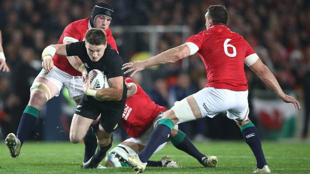 Beauden Barrett was put under pressure throughout the series and is working to rectify an issue with his goalkicking.
