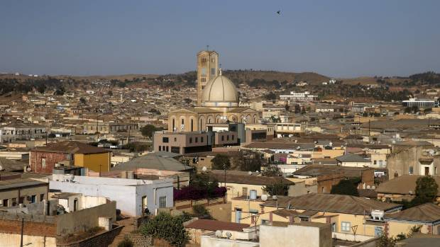 The modernist architecture in Asmara the capital city of Eritrea also made the list