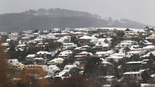 Christchurch was blanketed in snow for the second time in three weeks in August 2011.