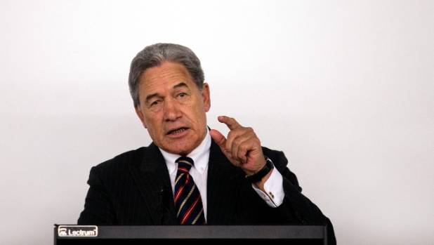 """Winston Peters says the comments can't be dismissed as a """"brain fade""""."""
