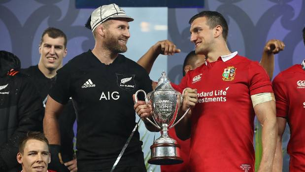Sam Warburton, right, led the British and Irish Lions to a draw against Kieran Read's All Blacks earlier this year, but ...