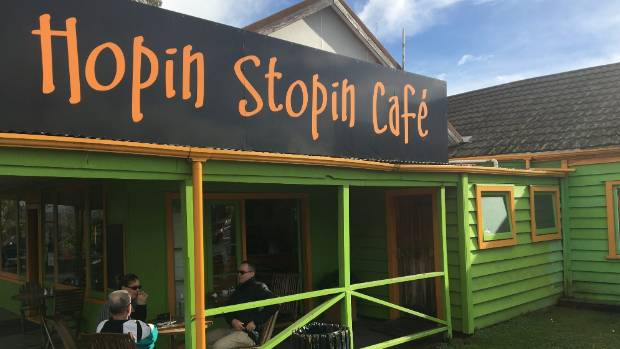 The Hopin Stopin Cafe in Taupiri.