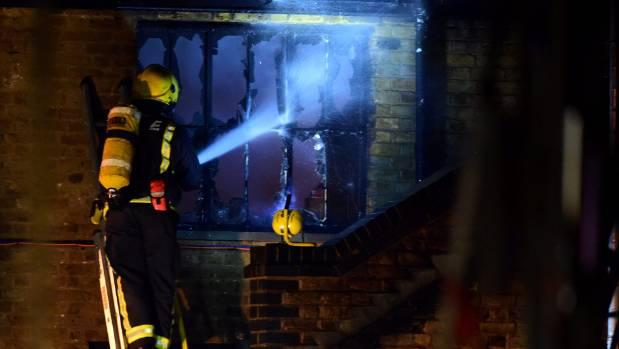 70 firefighters battle blaze at London's Camden Lock Market