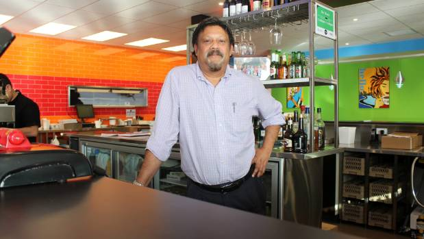 Titirangi man Cleitest Fernandez opened the Lincoln Family Restaurant in July on the Denny's site.