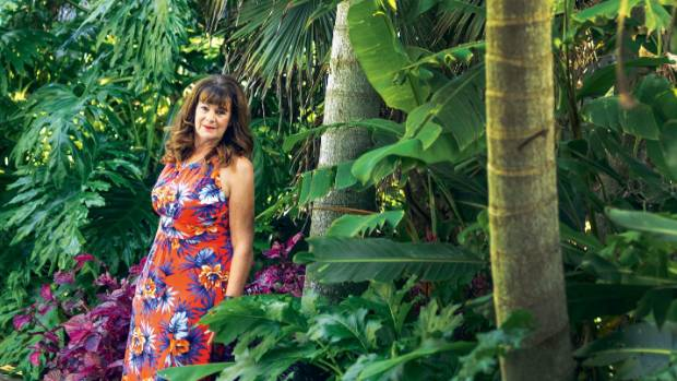 Denise Blampied loves the colours and textures of tropical plants.