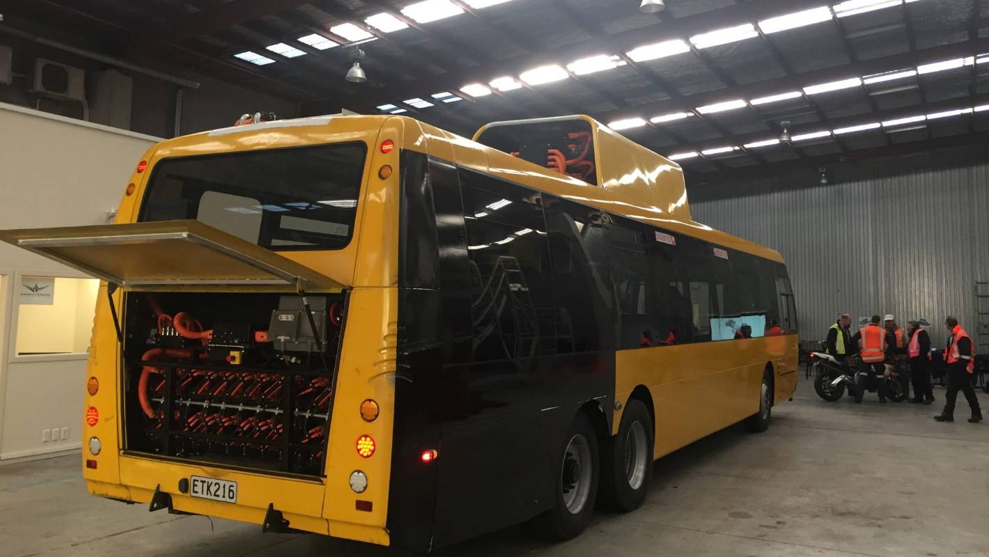 The rollout of Wellington's promised new electric hybrid bus fleet remains up in the air.
