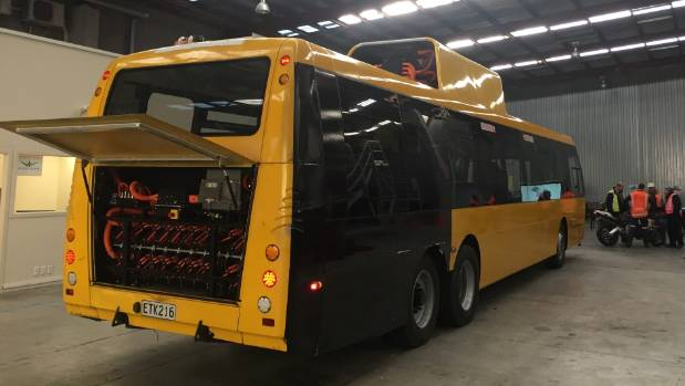 The diesels will be operate until Wellington's new Wrightspeed hybrid buses are introduced, hopefully by July next year ...