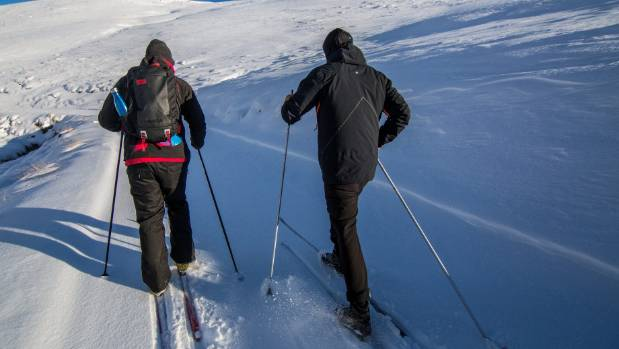 Cross-country skiing translates as aerobic exercise, stimulating the heart rate and engaging the core.