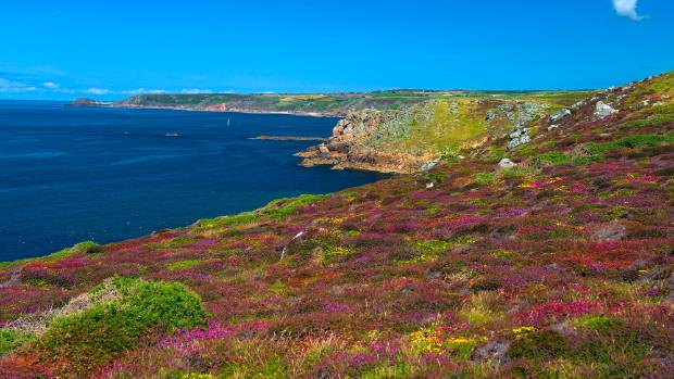 Cornwall, England - can you just imagine Ross Poldark surveying this view?