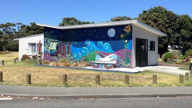 The Te Ara Korowai building in Raumati.