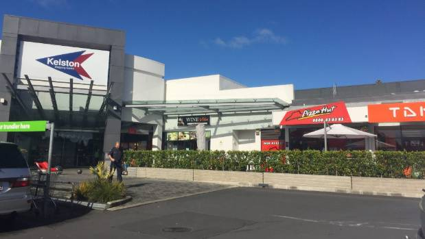 The Pizza Hut store is located in Kelston Shopping Centre.