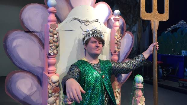 King Triton played by Joshua Williams.