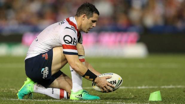 Michael Gordon's pectoral muscle injury is a big concern for the Roosters.