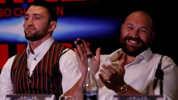 Hughie Fury Vows To Stop Parker After Canelo-Golovkin Scoring