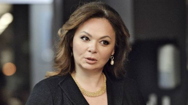 Russian lawyer Natalia Veselnitskaya, at the centre of the Trump Tower meeting with Donald Trump Jr, Jared Kushner and ...