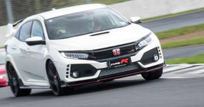 This is the first example of the eagerly awaited Civic Type R in NZ. With a 2007 model hot on its tail!