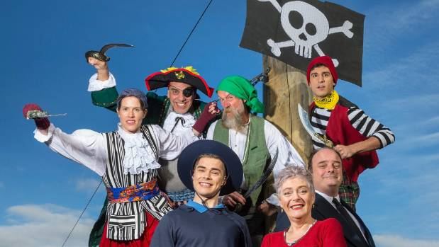 The Great Piratical Rumbustification by Tim Bray Productions can be seen these school holidays at Takapuna's PumpHouse ...