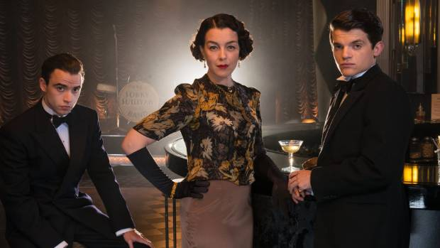 """Olivia Williams says The Halcyon's Lady Hamilton was """"glorious to play""""."""
