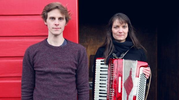 The Grawlixes folk duo, Robin Cederman and Penelope Esplin. The pair will play at The Refreshment Room in Titirangi on ...