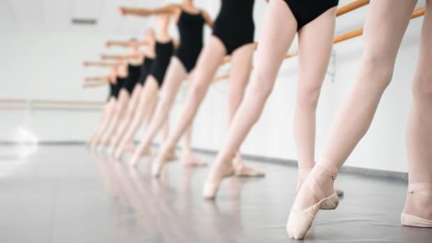 Being a ballet mum fills up evenings and weekends.