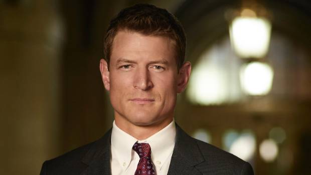 Philip Winchester as Peter Stone in Chicago Justice.