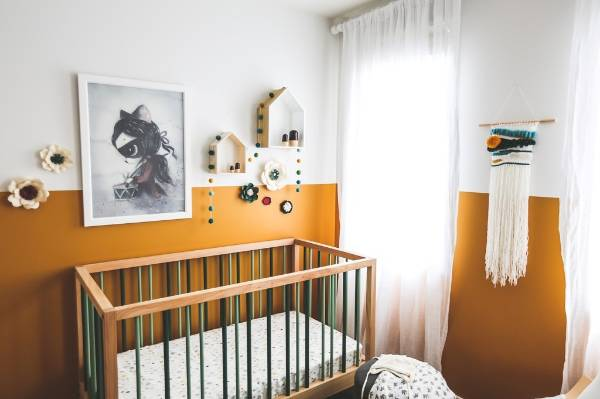 For Chaz, a statement cot or bed and a great set of drawers are worthwhile investments for any child's room.