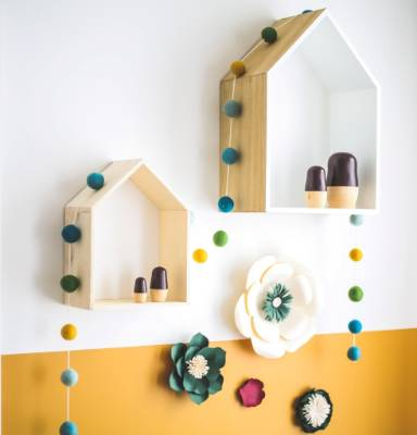 These house cubby holes are a perfect place to home different tiny toys or treasures as your child grows and their ...