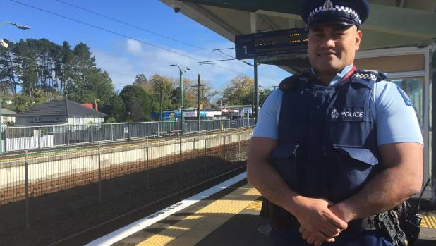 Ranui Neighborhood Policing Team Sergeant Keki Wilson said the station is one of the safest in west Auckland.