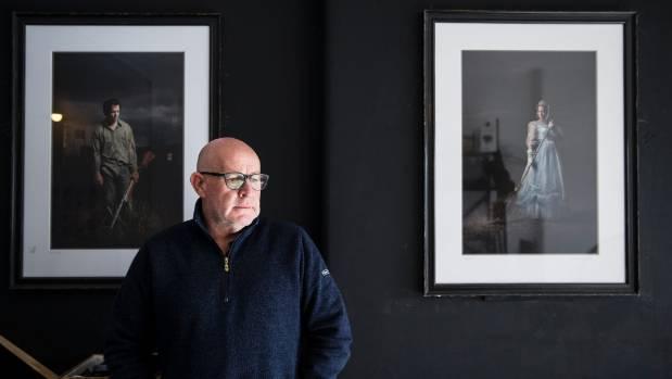Mark Hamilton had 30 pieces of pounamu stolen from his photography studio in Garden Place.
