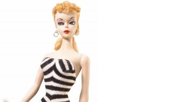 1959 Barbie reproduction.