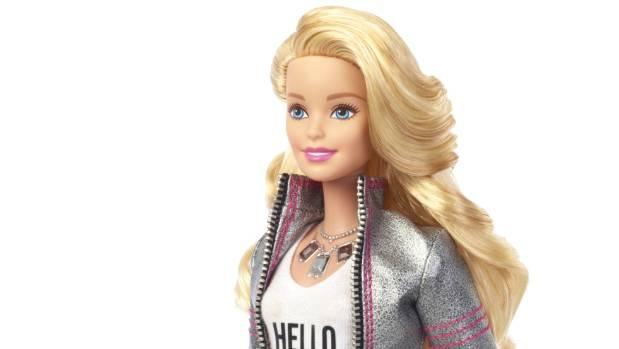 Hipster Barbie.