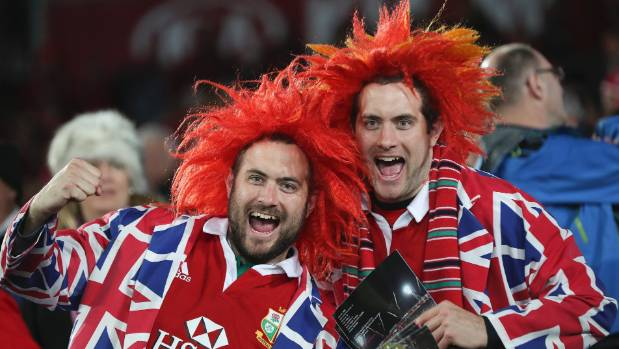 The Lions fans weren't complaining about the amount of rugby played during the tour.