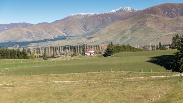 John and Jane Harrison's 400ha farm is in the Canterbury foothills at Montalto, inland from Mayfield.