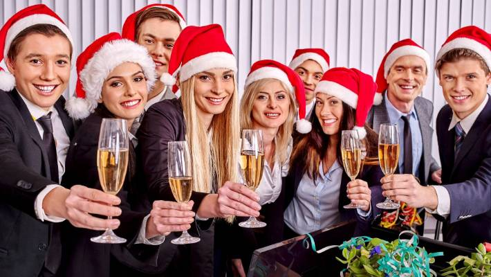 staff must pay to be tortured at the firms boring mid week christmas luncheon - The Office Christmas