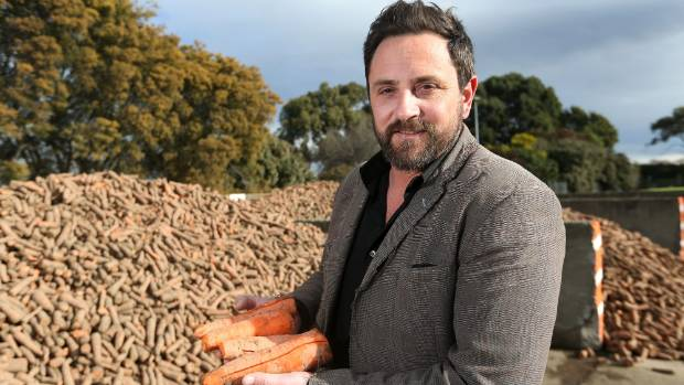 Talley's Marlborough area manager Matt Loose at the company's vegetable processing factory on Old Renwick Rd, in Marlborough.