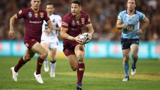 Billy Slater, who was only cleared to play the day before the match, has been a Queensland mainstay for the last 12 years.