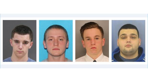 2 charged in slayings of 4 Pennsylvania men