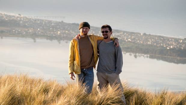 Backpackers Erik Alrup and Victor Rogachensky found Christchurch to be quiet compared to other cities in New Zealand.