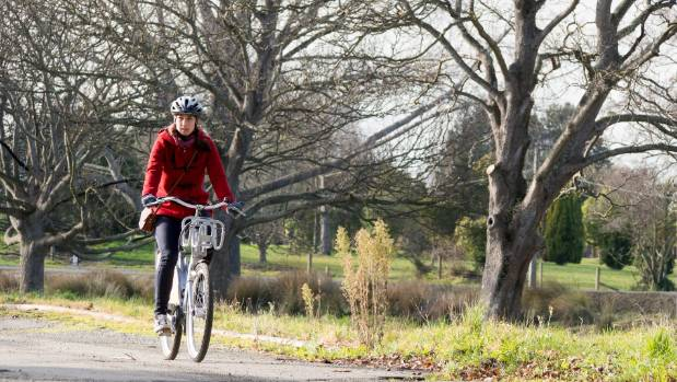 A scenic bike ride through the Christchurch red zone is a beautiful way to spend a morning, but there are no tourists in ...
