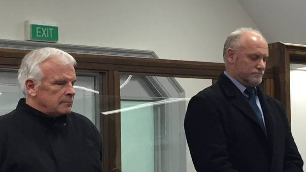 Michael Joseph O'Brien and Kevin Martin Coffey appearing for sentence on gambling fraud charges at the High Court in ...