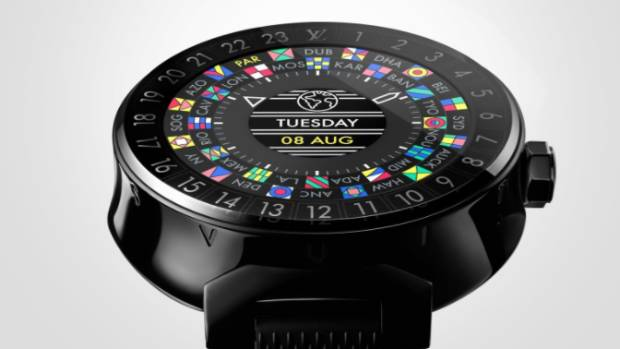 Louis Vuitton's Tambour Horizon starts at $3400, about eight times the price of an entry-level Apple Watch.