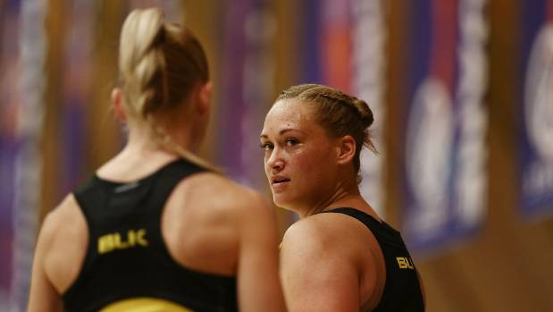Silver Ferns captain Katrina Grant, left, understands the lure of Australia for players such as Cathrine Tuivaiti.