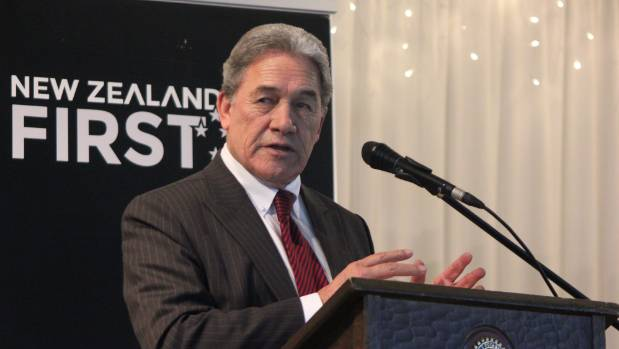 "NZ First leader Winston Peters says his party has received no ""substantial"" donations ahead of the election."