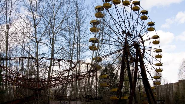 For adventure travellers Vicki and Paul, the draw-card to Eastern Europe was the eerie wastelands of Chernobyl.